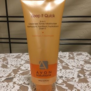 Avon Solutions Keep It Quick 3 n 1 Cleanser Normal